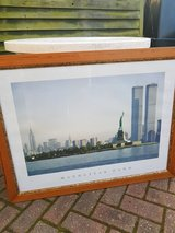 Large Manhattan Skyline Print in Lakenheath, UK