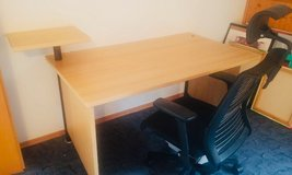Desk and Chair in Ramstein, Germany
