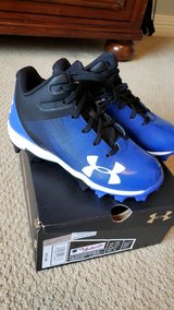Boys size 13 NIB baseball cleats under armour in Houston, Texas