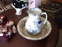 Pitcher and Bowl Set in Fort Riley, Kansas