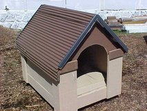 Brown/Tan Dog House w/optional back entrance in Camp Lejeune, North Carolina