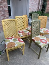 6 Ikea chairs circa 1980 in Kingwood, Texas