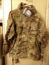 Soft shell cold weather jacket in Fort Campbell, Kentucky
