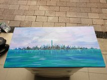 NYC & Barcelona Skyline Paintings in Stuttgart, GE