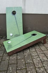 Golf Cornhole game with 8 corn bags in Ramstein, Germany