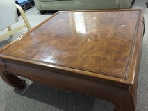 Japanese Square Dining Table in Wheaton, Illinois