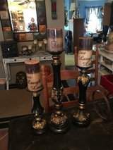 Candles and holders in Conroe, Texas