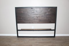 West Elm Full Size Headboard (Industrial) in Tomball, Texas