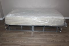 Twin Size Mattress and Foldable Frame in Spring, Texas
