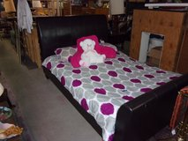 Queen Size Sleigh Bed in Fort Riley, Kansas