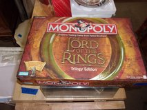 Monopoly Lord of the Rings Trilogy Edition in Fort Riley, Kansas