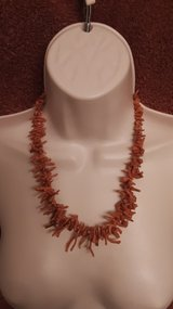 Red Coral Necklace in Spring, Texas