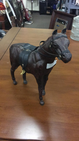 Horse (might be Leather) in Fort Leonard Wood, Missouri