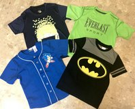 VeryGood/Like New Boys Size8 Hedgehog, Everlast (Nordstrom), Batman, BuzzCuts Summer Shirts in Okinawa, Japan