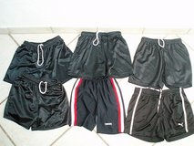6 pair youth soccer shorts size 10/12 in Stuttgart, GE
