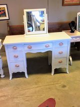 antique chalk painted vanity in Cherry Point, North Carolina