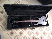 Toby by Tobias electric bass with hard case in Joliet, Illinois