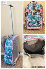 Unicorn rolling backpack from pottery barn. in Vista, California