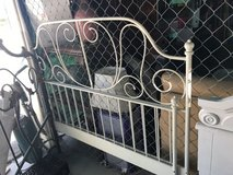 Vintage looking full-size rod iron style headboard footboard rails in 29 Palms, California