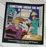 Vintage 1988 Calvin and Hobbs Something Under The Bed Is Drooling Soft Cover Comics Classic Chil... in Morris, Illinois