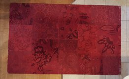 Large Red Rug in Kingwood, Texas