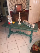 Refurbished shabby chic table in Conroe, Texas