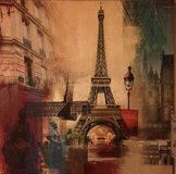 "Eiffel tower callas canvas  39.5""x 39.5"" in Kingwood, Texas"