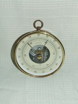 Vintage Taylor Brass Nautical Ship Barometer Weather Indicator in Wheaton, Illinois