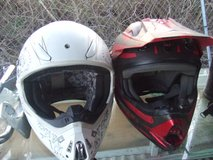 KIDS DIRTBIKE HELMETS, CHEST PROTECTOR,SIZE 3 BOOTS in Camp Lejeune, North Carolina