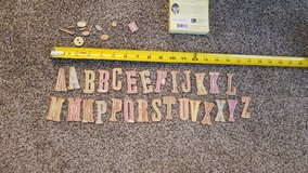 Chipboard letters in Naperville, Illinois