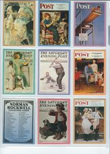 1993 Norman Rockwell Saturday Evening Post Collector's Cards in Fort Riley, Kansas