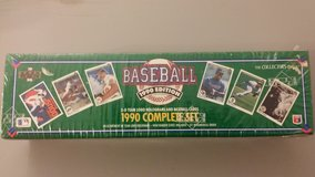 1990 Upper Deck The Collector's Choice Trading/Collector's Card Set (MLB) in Fort Riley, Kansas