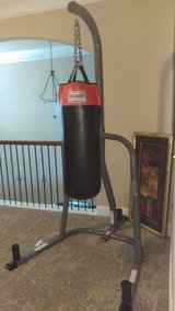 Everlast Punching Stand with Bag in Warner Robins, Georgia