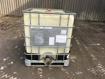 1000 litre liquid container in Lakenheath, UK