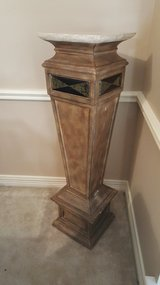 ANTIQUE ORIGINAL NEOCLASSICAL FRENCH NAPOLEON EMPIRE PEDESTAL. in Houston, Texas