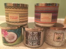 Bath & Body Works candles 3 wicks in Oswego, Illinois