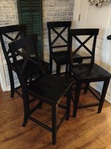 Black Counter Stools set of 4 in Hopkinsville, Kentucky
