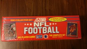 1990 Score National Football League (NFL) Collector Set Trading Card in Fort Riley, Kansas