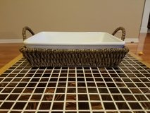 Ceramic pan with basket in Naperville, Illinois