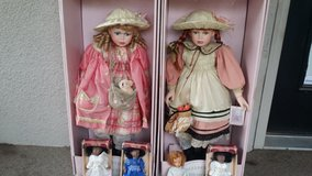 Genuine Porcelain Collectible & Classic Dolls Lot in Fort Riley, Kansas