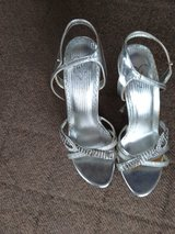 silver sandals in Okinawa, Japan