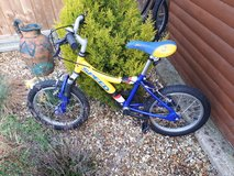 Kids Yellow/Blue Raleigh in Lakenheath, UK