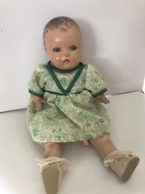 Antique Horsman Composition Doll with Blue/Green Sleep Eyes in Yorkville, Illinois