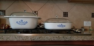 Vintage Cornflower Corningware Cookware in Pearland, Texas