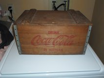 Vintage Hinged Wooden Coca Cola Crate in Chicago, Illinois