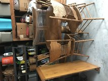 Dining table hutch and 6 chairs in Cleveland, Texas