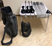 Ram Golf Clubs and Stand Bag/Cover in Joliet, Illinois