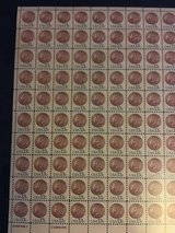 US postage stamp Indian head penny scott in Lakenheath, UK