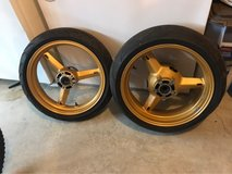 GSXR 600 Gold Rims in Camp Lejeune, North Carolina