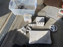 Wii game console with controllers and games in 29 Palms, California